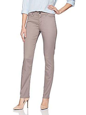 Lee Womens Fit Rebound Slim Straight Jean, Brown Loft, 14 Short