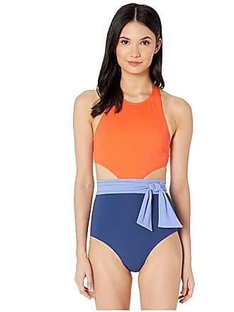 31ece3b14bb Flagpole Lynn One-Piece with Sash (Aperol Multi) Womens Swimsuits One Piece