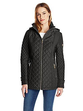 b67382a80b74e5 Calvin Klein Womens Quilted Jacket with Hood