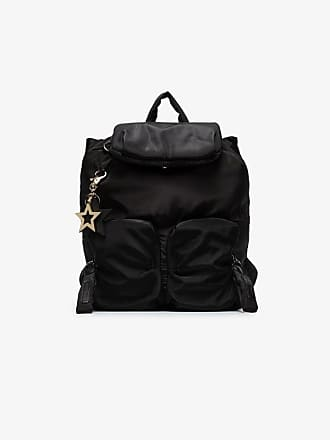 See By Chloé Black star charm backpack