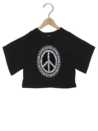 Bisi Blusa Bisi Peace Mandala Preto
