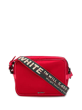 Off-white Bolsa transversal - Vermelho