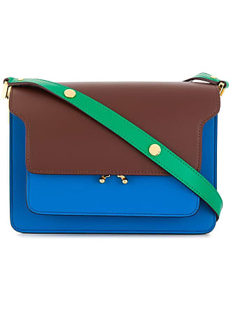 Marni medium Trunk shoulder bag - Blue