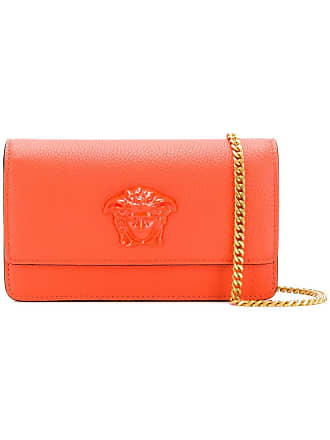 5e0d9b6d1bea Versace Medusa Head clutch bag - Orange