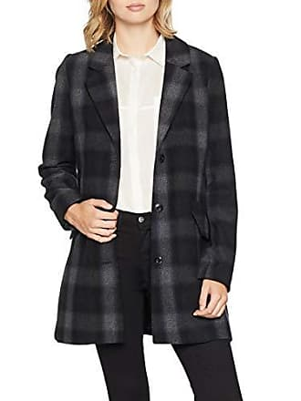 f90d9ce937b2c G-Star Minor SB Wool Check Coat WMN, Manteau Femme, Gris (GS