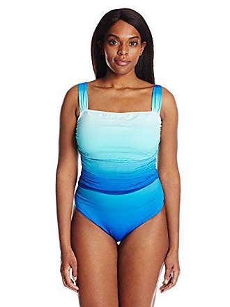 b93e85fb02b Bleu Rod Beattie Womens Plus-Size Fun in The Sun Over The Shoulder Floating  Underwire