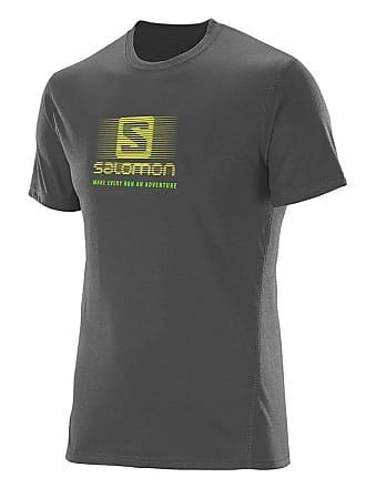 Salomon Camiseta Masculina Running Galet S60713 Cinza - Salomon - G
