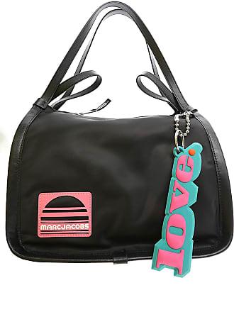 Marc Jacobs Top Handle Handbag On Sale, Black, Nylon, 2017, one size