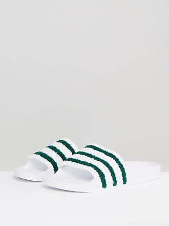 bbb833f43 adidas Originals Adilette Slides In White BB0124 - White