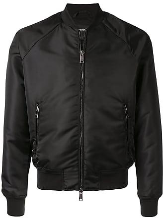 Emporio Armani classic bomber jacket - Black