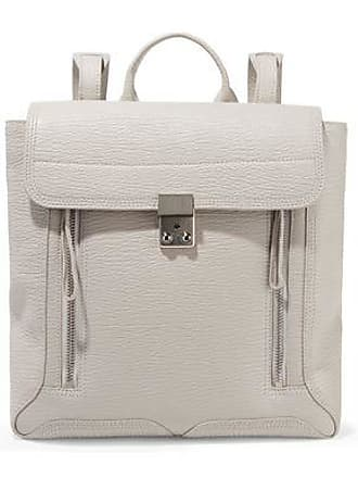 3.1 Phillip Lim 3.1 Phillip Lim Woman Pashli Textured-leather Backpack Ecru Size