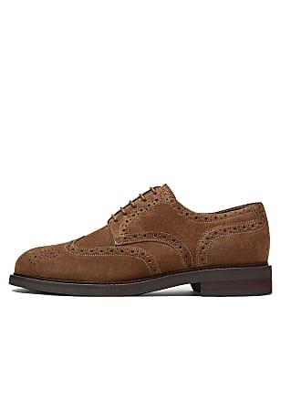 971ba51b7b32b2 MASSIMO DUTTI Mens Tan Split Suede Casual Shoes 4212 022 (7 UK)
