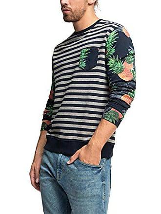 EDC by Esprit edc by ESPRIT - Sweat-Shirt - Manches Longues Homme -  Multicolore 53069b52cba