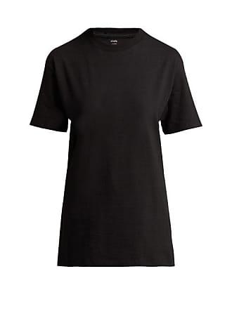 Hanes x Karla Hanes X Karla - The Original Cotton Jersey T Shirt - Womens - Black