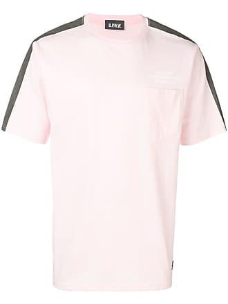 U.P.W.W. Camiseta com bolso no busto - Rosa