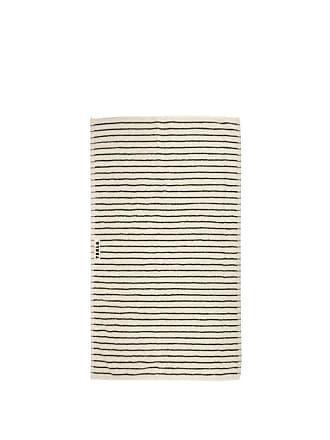 Tekla Striped Cotton-terry Hand Towel - White Stripe