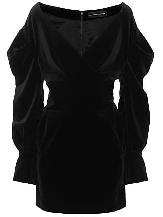 Alexandre Vauthier Embellished velvet minidress