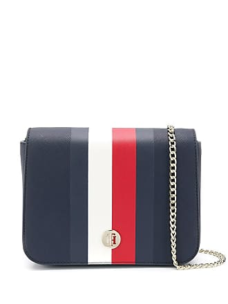 84d977f667a Tommy Hilfiger contrast stripe crossbody bag - Blue