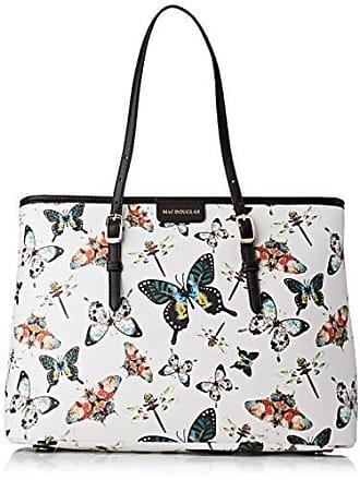 73b0701081 Mac Douglas femme Everton Paloma M Sac porte epaule Blanc (Butterfly Blanc)