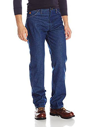 Wrangler Mens Flame Resistant Original Fit Jean,Blue,29x34