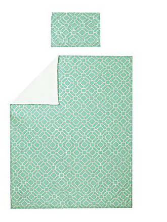South Shore Furniture 2 Piece 39 Duvet Cover, Twin, Turquoise