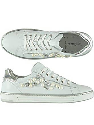 Nero Giardini Scarpe Donna Sneakers Pelle Bianco P805270D-707 b51887442c8
