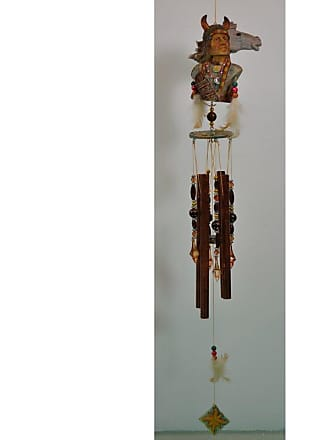 Great World Company Warrior Horse Indian Wind Chime - 74508