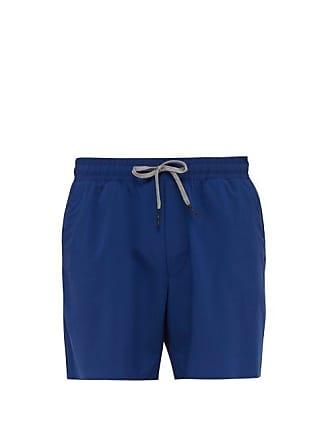 Falke Drawstring Waist Shorts - Mens - Blue