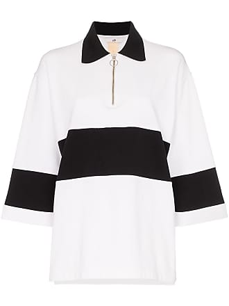 Eytys Orlando zip collar polo shirt - Branco
