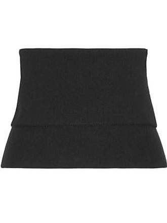 Tibi Tibi Woman Ribbed Wool-blend Bustier Top Black Size M