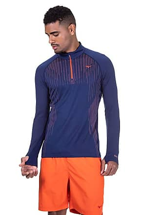 Mizuno T-Shirt Mizuno Run Knit Bt Ml Zip M GG