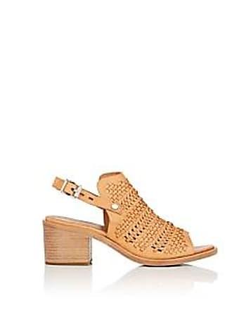 cbb54979e0f Rag   Bone Womens Wyatt Perforated Leather Slingback Sandals - Neutral Size  11