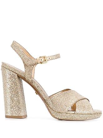 e927f8ce0a08 Michael Michael Kors Alexia glitter sandals - Gold