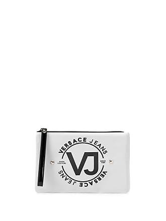 Versace Jeans Couture Necessaire com logo - Cinza