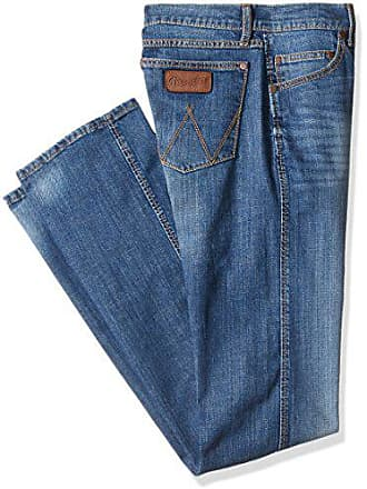 Wrangler Mens Tall Size Retro Slim Fit Straight Leg Jean, Cottonwood, 34x38