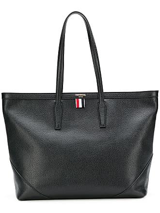 902786cf1b7a Thom Browne textured large shopper tote - Black