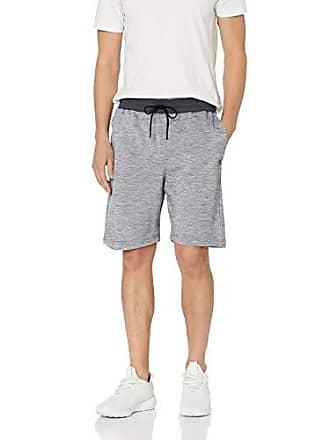 Hurley Mens Elastic Waist Valley Gym Sweat Shorts, Pure Platinum XXL
