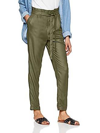 Pimkie Pantalon fluide vert kaki taille élastique Femme - Taille M 78e6c092eb9c