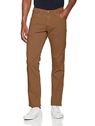 5f0371fe7d4b3 Wrangler W15QN843S-Jeans Uomo Beige (Safari Khaki 8c) 32W x 34L