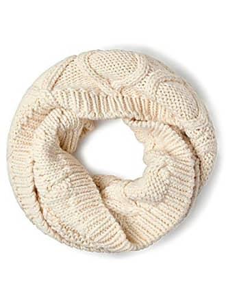 918cecc5454e Street One Uni Knitted Loop Scarf, Echarpe Femme, Weiß (Off White 10108)