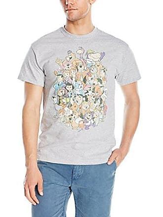 bdc2eb264a Hanna-Barbera Mens Supergroup Mens T-Shirt, Sport Grey, Large