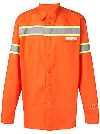 HPC Trading Co. Camisa com painel reflectivo - Laranja