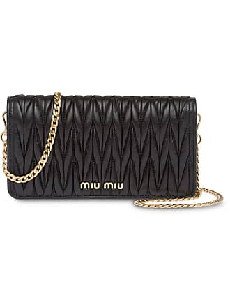 af342ec746dc Miu Miu matelassé leather mini-bag - Black