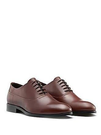 3589510c9f5 HUGO BOSS Chaussures Oxford en cuir box-calf195.00