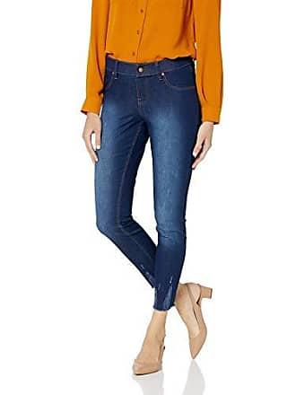 Hue Womens Ultra Soft Denim Jean Skimmer Leggings, Assorted, Ink Wash XL