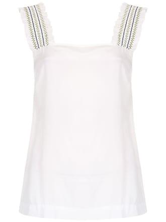 Isolda Blusa Clarice de seda - Branco
