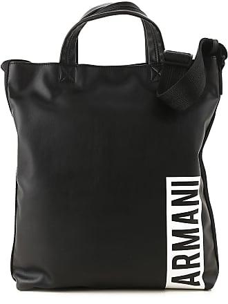 Armani Totes On Sale, Black, polyurethane, 2017, one size