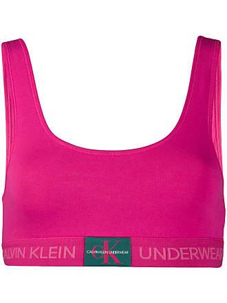 Calvin Klein Underwear Bralette com logo - Rosa