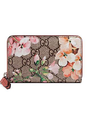 Gucci Portacarte GG Blooms in tessuto GG Supreme 8d86cee13550