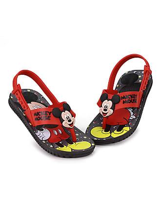 Grendene Sandália Rasteira Infantil Grendene Mickey